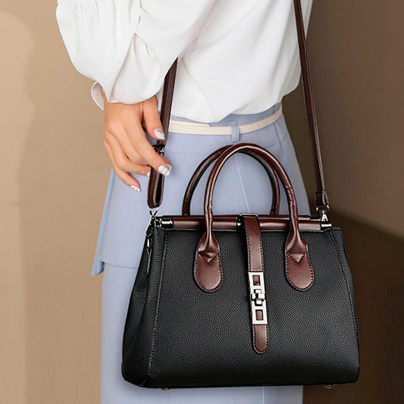 Femme Leather Luxury Handbags Women Bags Designer Hand bags Women Shoulder Crossbody Messenger Bag 2019 Casual Tote May4