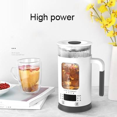 600ML Mini Multi-function Electric Kettle Health Preserving Pot Glass Boiled Tea Pot Hot Water bottle Thermal Kettle 220V