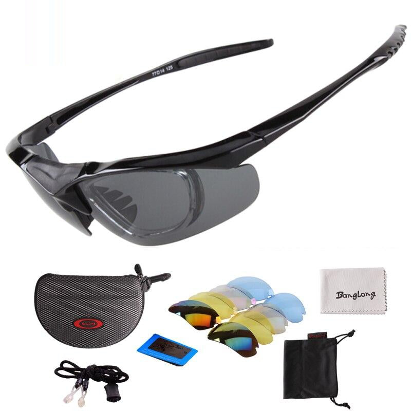 Banglong Outdoor Sports Polarized Sunglasses for Cycling Fishing Driving Hiking