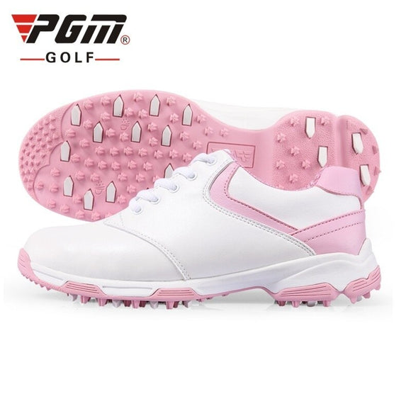 Pgm Golf Shoes For Women Waterproof Multifunction Sport Shoes Professional Non-Slip Sneakers Patent Golf Shoes AA10093