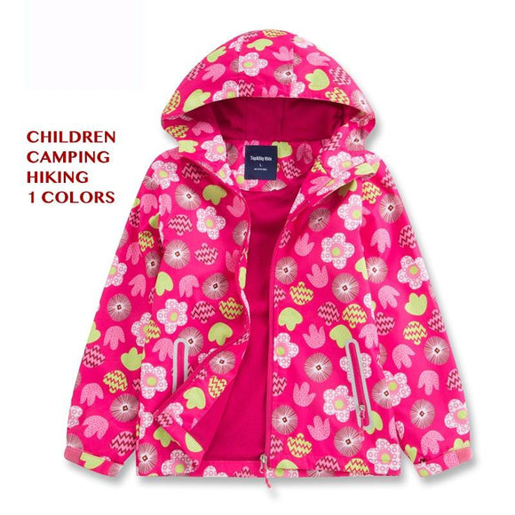 FEITONG Toddler Baby Girls Boys Winter Cartoon Print Warm Jacket Hooded Windproof Coat