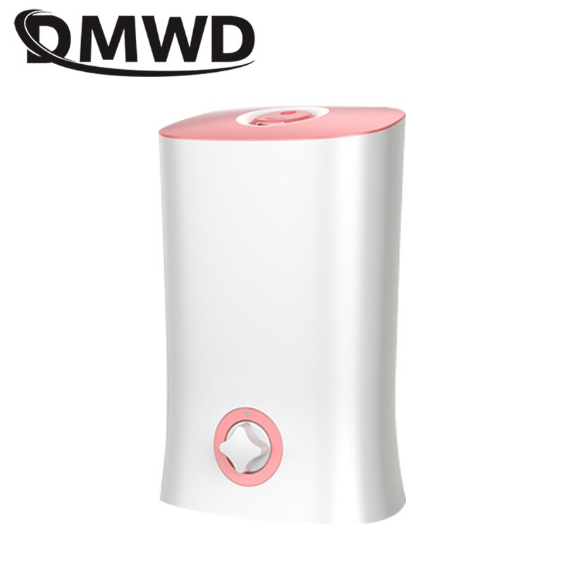 DMWD Electric Ultrasonic Humidifier Aroma Essential Oil Diffuser Atomizer Air Purifier Cool Mist Maker Nebulizer Fogger 4L EU US
