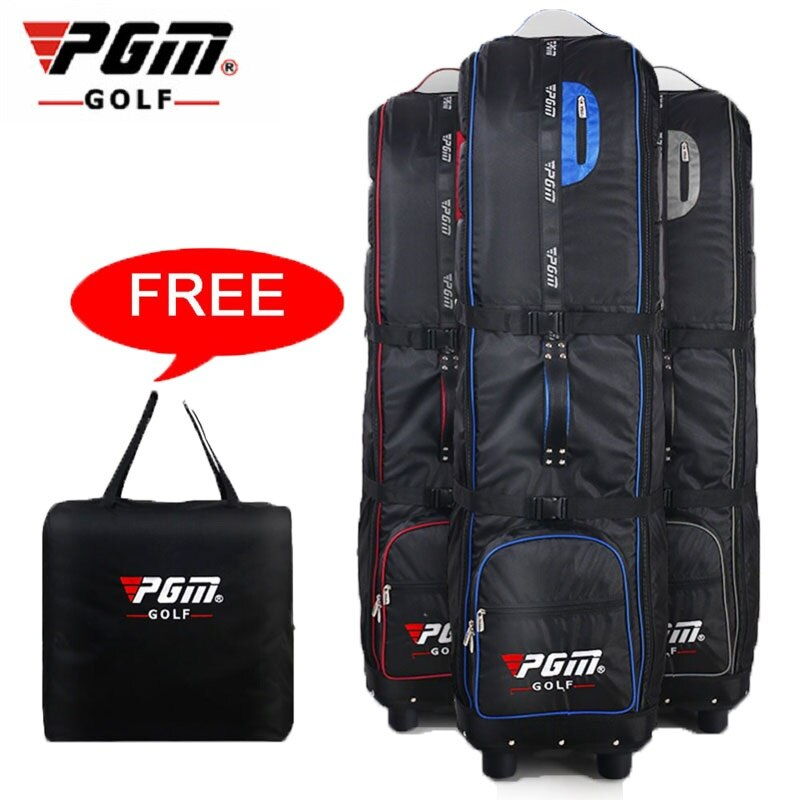 2020 Pgm Polo Portable Golf Aviation Bag Golf Air Package Golf Thickening Travel Bag Cover Easy Carry Plane Bag 3 Colors D0070