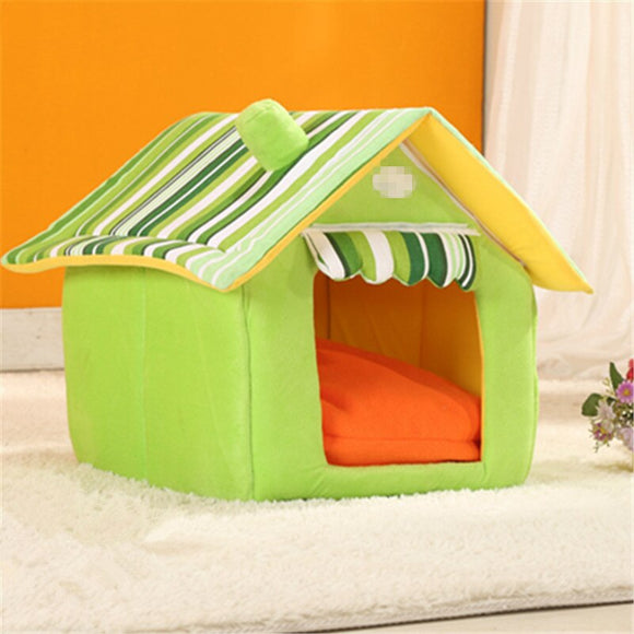 Large Removable Pet Dog House Home Shape Winter Warm Small Large Dogs Kennel Washable Cat Nest Drop Shipping