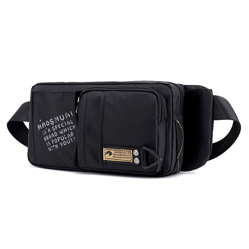 Military Belt Waist Chest Bags Hip Bum Pouch High Quality Shoulder Multi-Functional Anti-theft Male Bag Men Nylon Fanny Pack