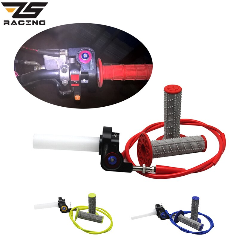 34//36//38//40//42mm PWK Carburetor Twist Throttle Cable Grip Hand Air Filter Tools