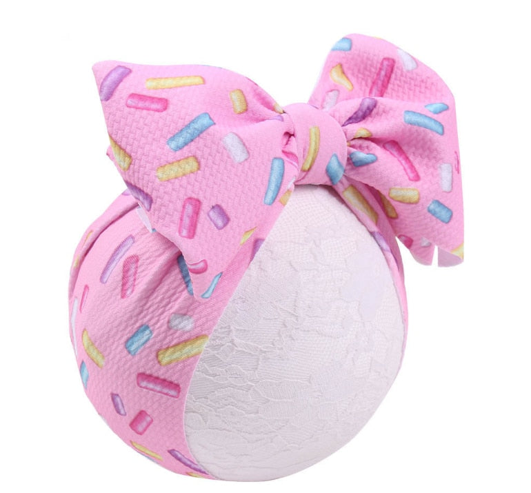 Baby Girls Hat Stuff Accessories Baby Girl Hat With Bow Knot Infant Beanie Solid Big Bowknot Cap For Girls Kid Hat