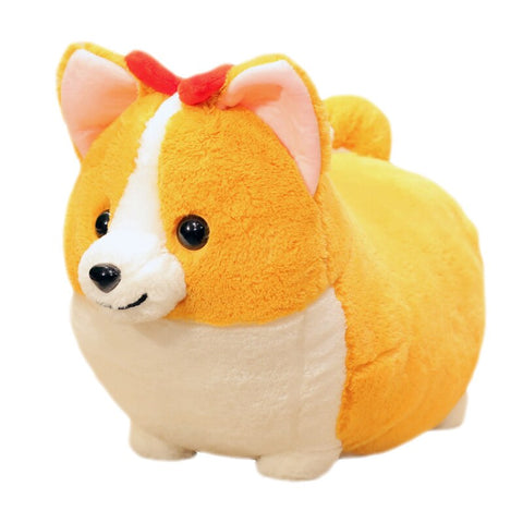 Cute Dog Plush Toy Stuffed Soft Animal Corgi Chai Pillow Gift For Kidsxa