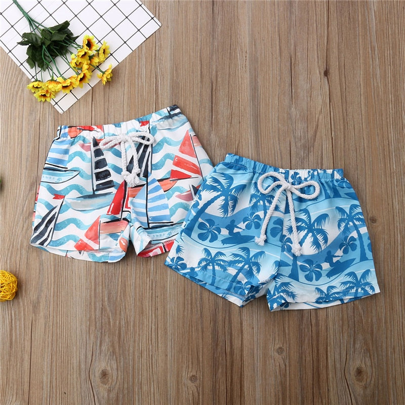 La Redoute Collections Big Boys Pack of 2 Boxer-Style Swim Shorts 3-12 Years