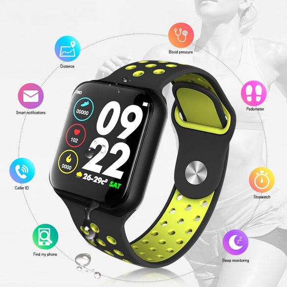 IMIDO 1.3inch Sport Smart Watch men waterproof Multi-sports modes Pedometer Heart Rate blood pressure monitor Fitness tracker