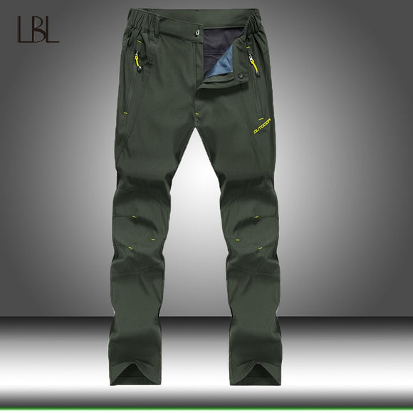 Outdoor Quick Dry Breathable Pants Men Summer Thin Spring Autumn Hiking Climbing Trousers Mens Tactical Military Cargo Pants