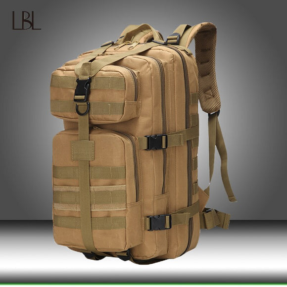 Large Capacity Men Army Military Tactical Large Backpack Waterproof Outdoor Sport Hiking Camping Hunting Climbing Bags For Men