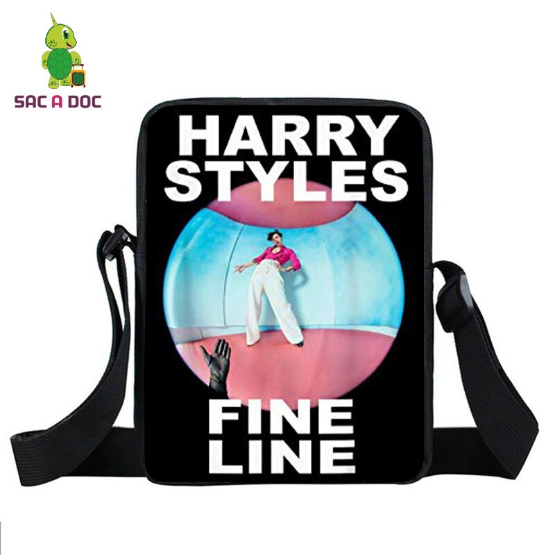 Hip Hop Harry Styles Shoulder Bags Girls Tote Bag Messenger Bags School Bags Hand Bags for Women Purse Women Bag Travel Bag Pack