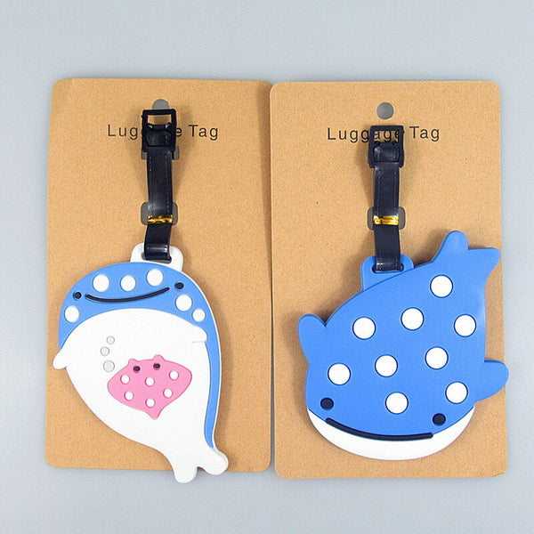 2 Pack Luggage Tags Whales Baggage Tag For Travel Tags Accessories