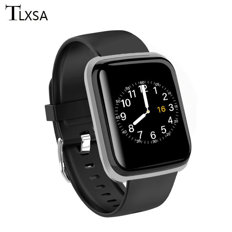 Smart Watch Women Men Smartwatch Fit Android IOS Waterproof Fitness Sports Smart-watch Heart Rat Monitoring Information reminder