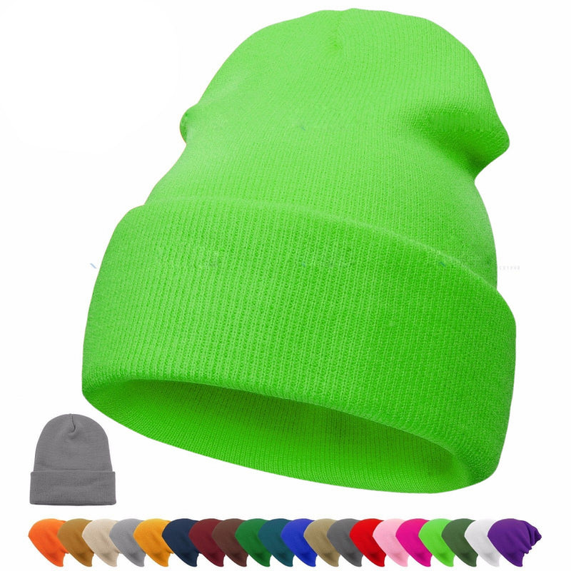 Supstar Winter Beanie Hat Circle Scarf Skiing Set Wool Warm Knit Hat Thick Skull Outdoor Sports Cap for Men Women