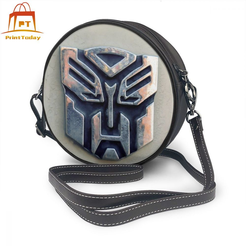 Transformer Shoulder Bag Transformers Leather Bag Trending Pattern Women Bags Mini Crossbody High quality Women's Round Purse