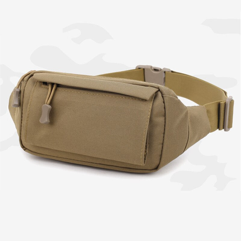 NEW Outdoor Tactical Waist Bag Waterproof Adjustable Waist Chest Bag for Fitness Camping