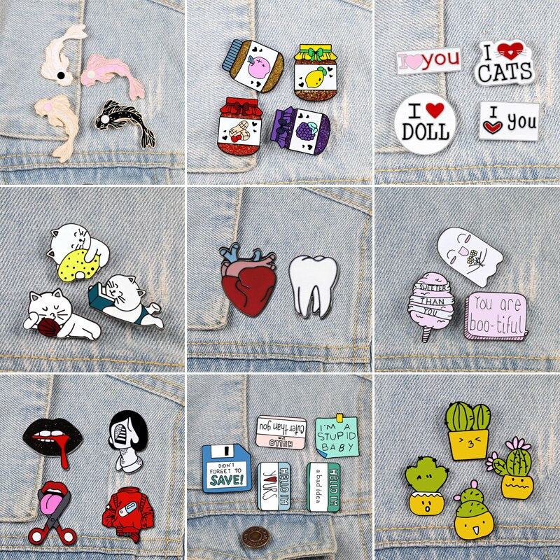 Custom Lapel Pin Brooches Animal Eyes Banquet Badge Pins Trendy Accessory Jacket T-Shirt Bag Hat Shoe