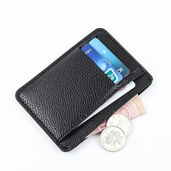 Card holder wallet Men Credit Card Holder Small RFID Blocking Minimalist Slim Credit Card Holder Pocket Wallets for Men Women