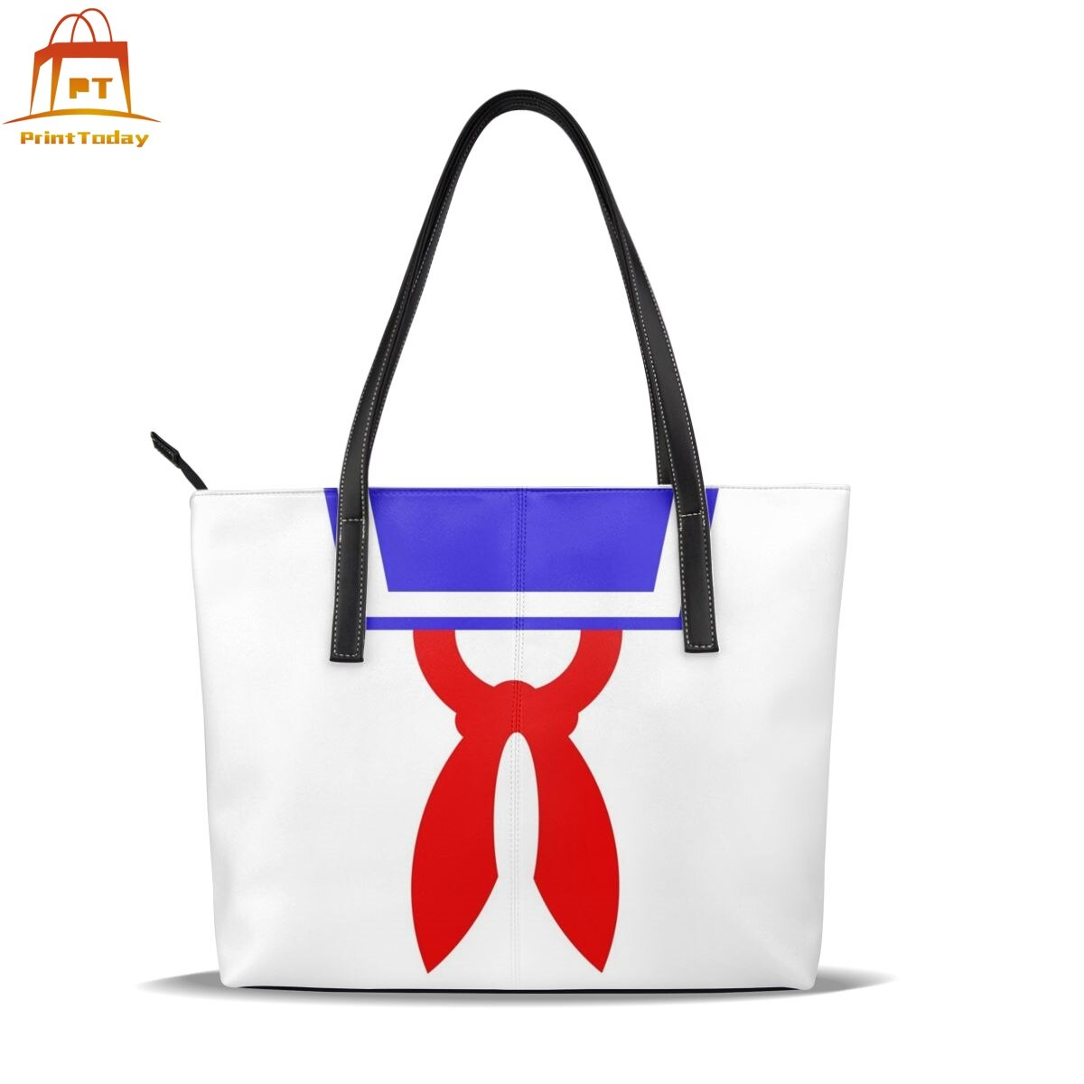 Ghostbusters Handbag Mr Stay Puft Top-handle Bags High quality Trending Leather Tote Bag Women Handbags