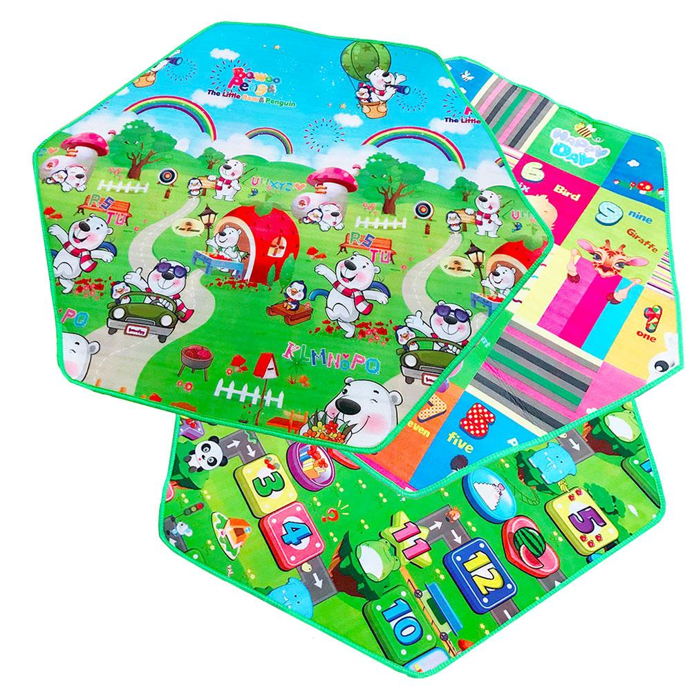 Kids Play Mat Roads Track POLICEMAN Childrens Floor New Activity Map 100 x 150cm
