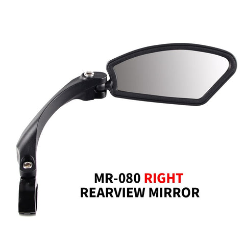 Mirror Bicycle Cycling Stainless Steel Rear View Handlebar Flexible Unbreakable