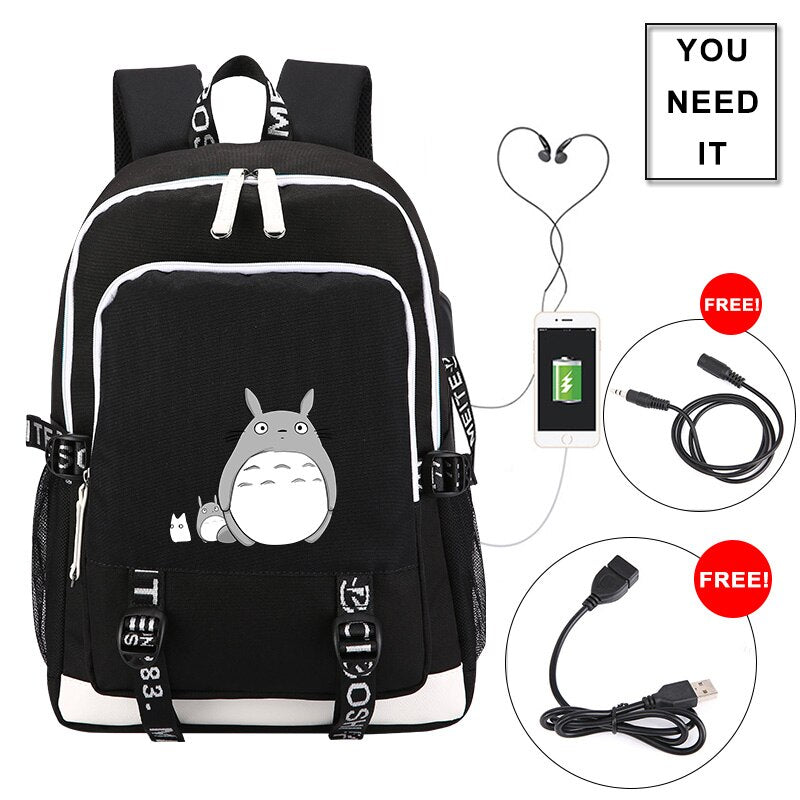 Unisex PU Leather Backpack Magical Unlcorn and Rose Print Womens Casual Daypack Mens Travel Sports Bag Boys College Bookbag