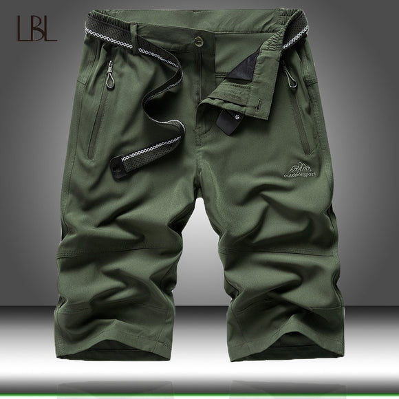 Tactical Shorts Men Summer Casual Army Military Style Short Pant Mens Cargo Thin Quick Dry Shorts Man Outdoor Hiking Sportswear