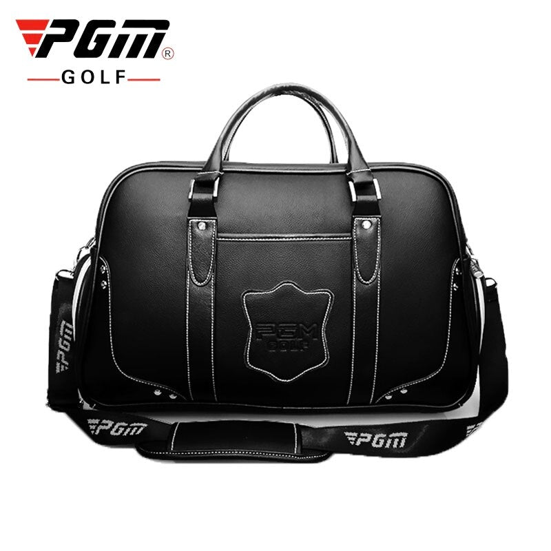 Pgm Golf Clothing Bag Waterproof Genuine Leather Golf Shoes Bags Large-Capacity Double Layer Sports Handbag Packages D0075