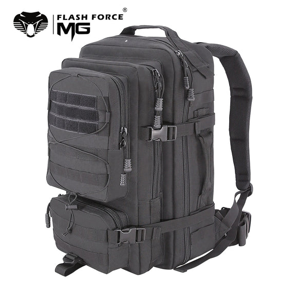 40L Military Tactical Backpack Army 3P Assault Pack Bug Out Bag Rucksack Outdoor Trekking Camping Hunting Molle Backpack