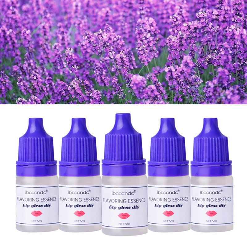 5ml Fruity Fruits Good Essential Fragrance Oil Set Food Grade Flower Flavoring Oil for Lip Gloss DIY Natural Ingredients