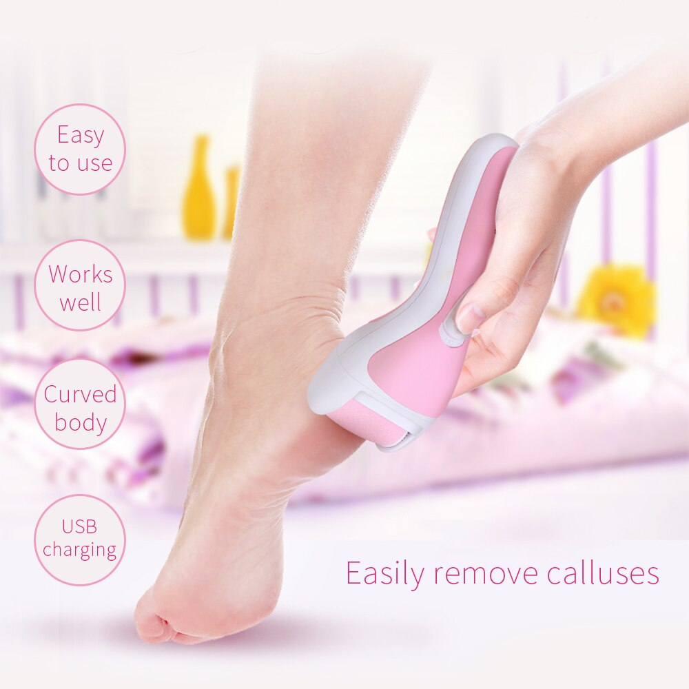 Foot Care Tool 2pcs Hard Skin Remover Foot Refills Pedicure Replacement Rollers Remove the Callused Skin