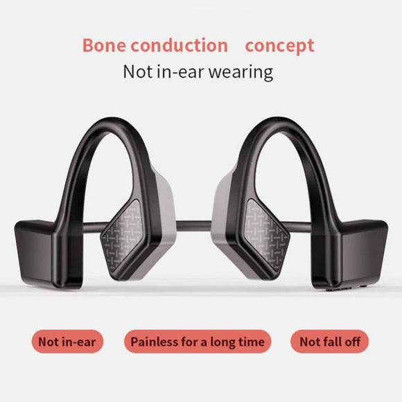 K08 Wireless Music Stereo Headphones Bluetooth Earphone 5.0 air Conduction Headsets Sports Earphones Handsfree Headsets