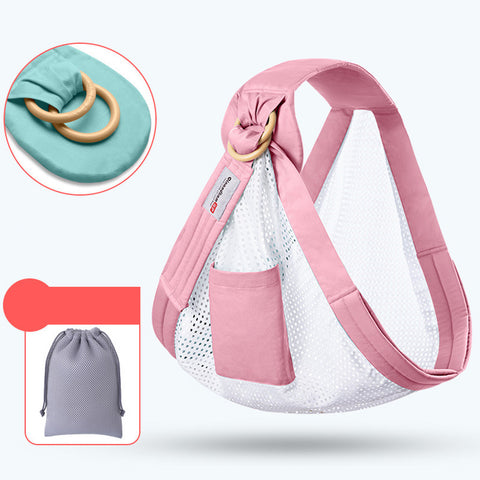 Baby Scarf Nursing Cover Multi-functional Travel Breathable Kid Carrier Backpack