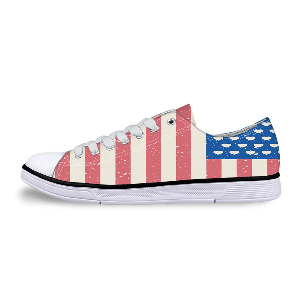 Classic Sneakers Unisex Adults Low-Top Trainers Skate Shoes Lithuania Flag National Emblem