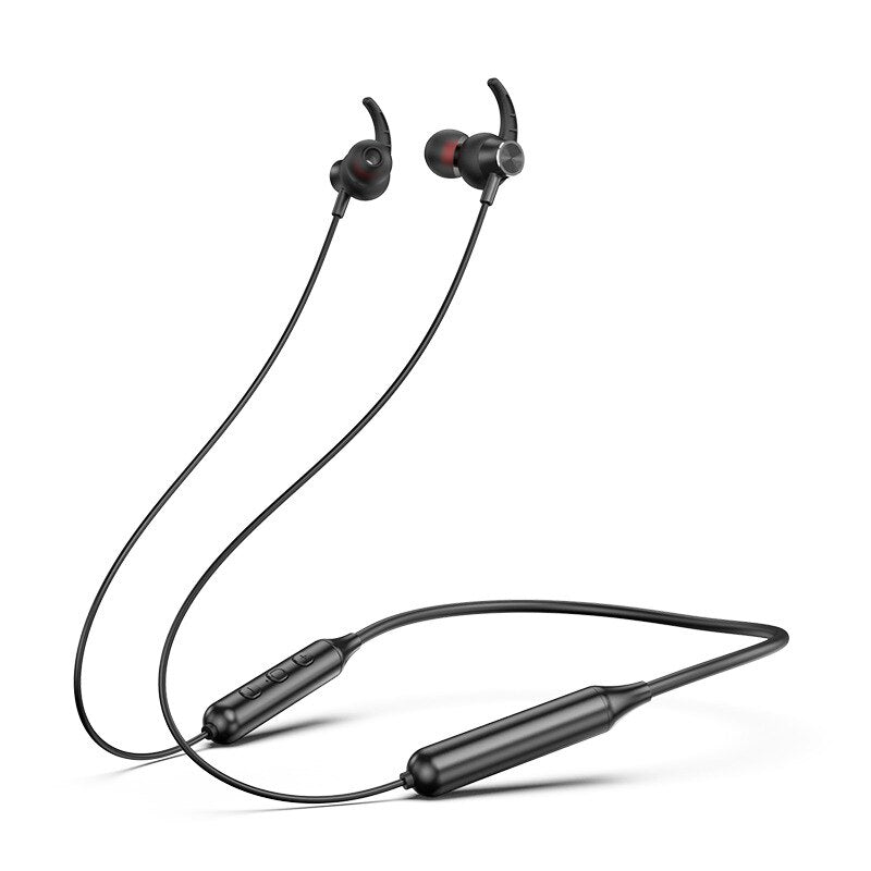 Bluetooth Earphone Sport Magnetic V5.0 Stereo Sports Waterproof Earbuds Wireless Hanging Neck Headset With Mic For Xiaomi Huawei