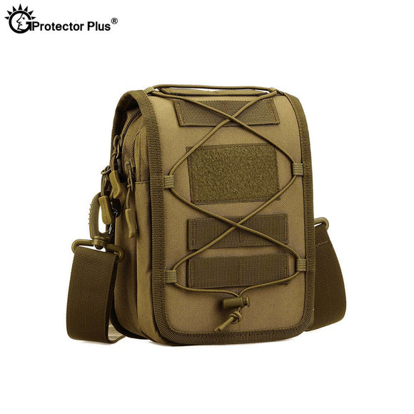 Tactical Bag Military Messenger Camouflage Bag Nylon Outdoor Fishing Hiking Sport Camping Crossbody Pouch Single Shoulder