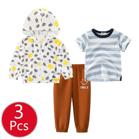 Baby Top Pants Cartoon Underwear Outfits Pajamas Christmas Autumn 2019