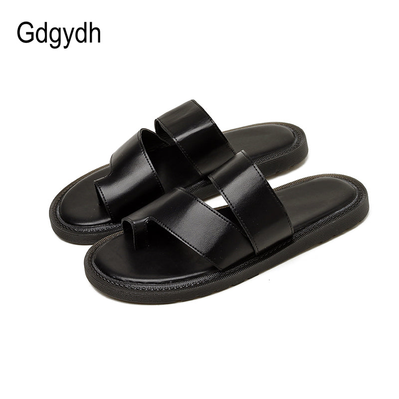 Unisex Adults Flip-Flops Sandal Slippers Indoor Shower Flats Open Toed Slide Shoes Eiffel Tower Oil Painting