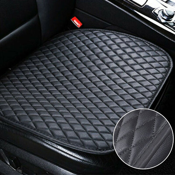 Black Car Seat Protector Safety Anti Slip Cushion Cover Front Seat Pad Mat UK