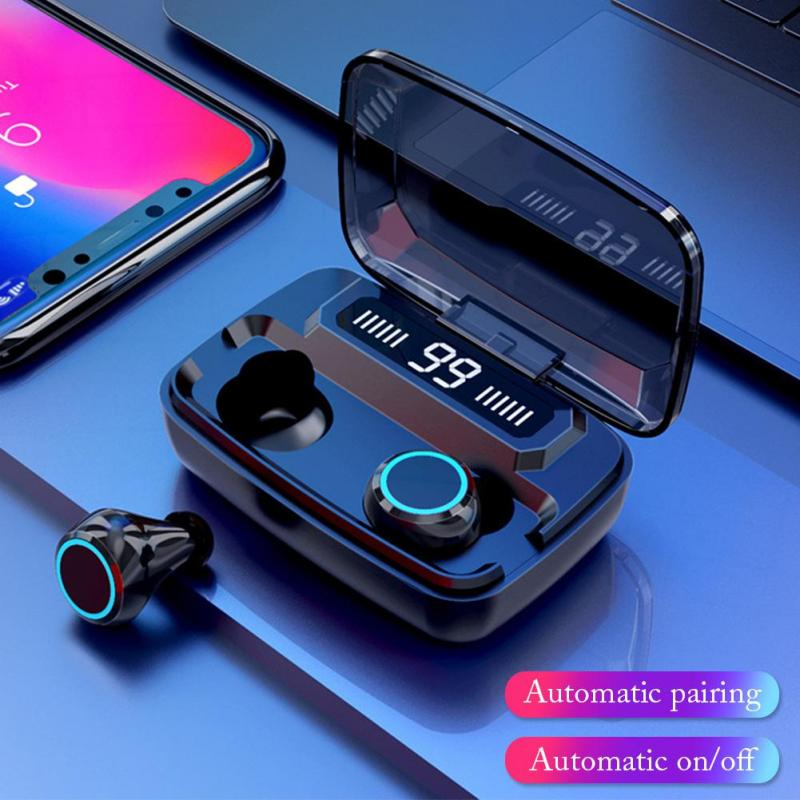 Mini TWS Wireless Bluetooth5.0 Earphone Stereo Earbuds In-ear Touch Control Sports Headset Wear Solid For Xiaomi Huawei Samsung