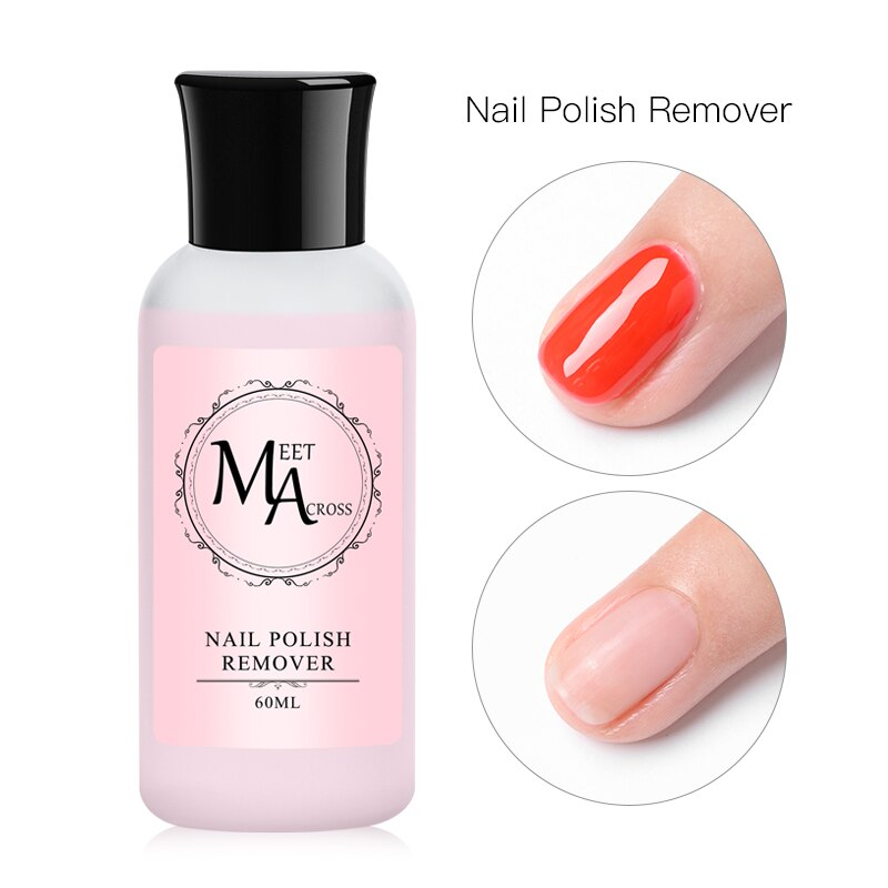 60ml Nail Polish Remover Acrylic Liquid Nail Brush Cleaner Nail Surface Cleanser Nail Extension Cleaning For Nail Gel Polish