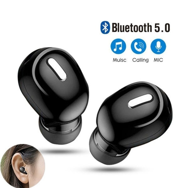 TWS Hifi Bluetooth V5.0 Earphone 3D Stereo Sport Earbuds Wireless Earphones With Microphone Wireless Headset For Xiaomi Huawei