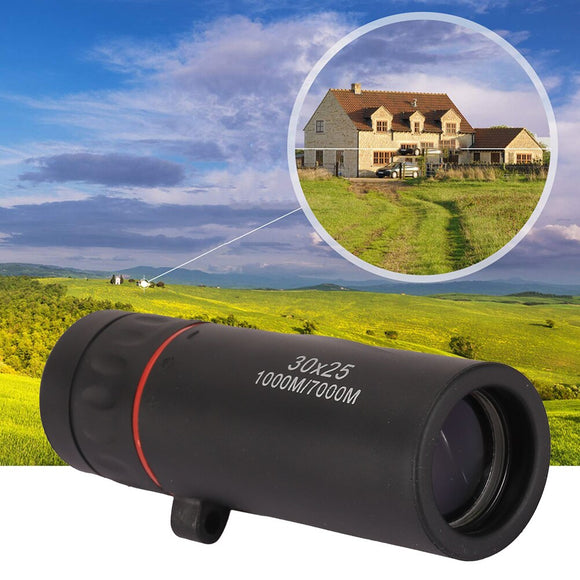 Portable Mini Monocular Telescope Outdoor Camping Hunting Optical Telescope