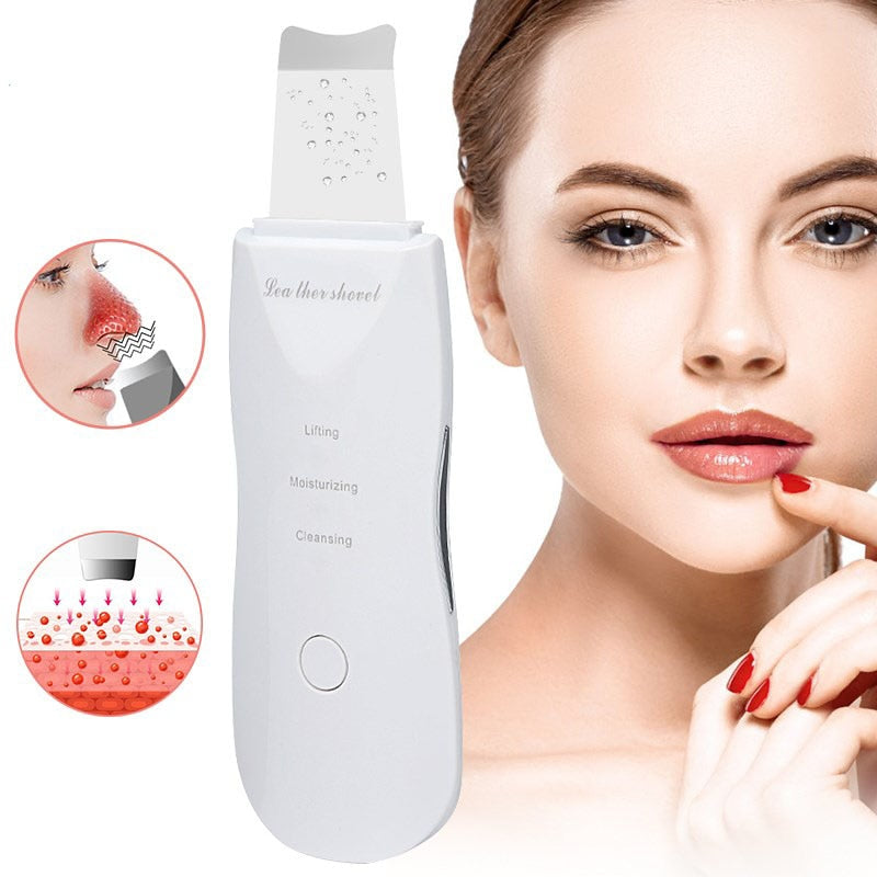 Face Cleaning Machine Skin Scrubber Remover Dirt Blackhead Reduce Wrinkles And Spots Facial Whitening Lifting Tool