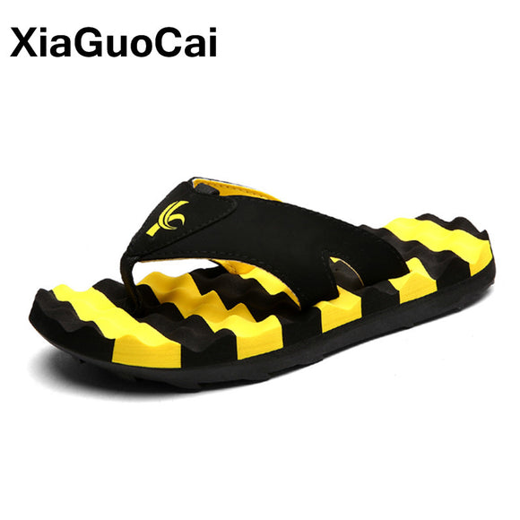 Mens Slipper Golden Glossy Mexican Large Sunflower Cute Extra-Soft Open Toe Flat Beach Slippers
