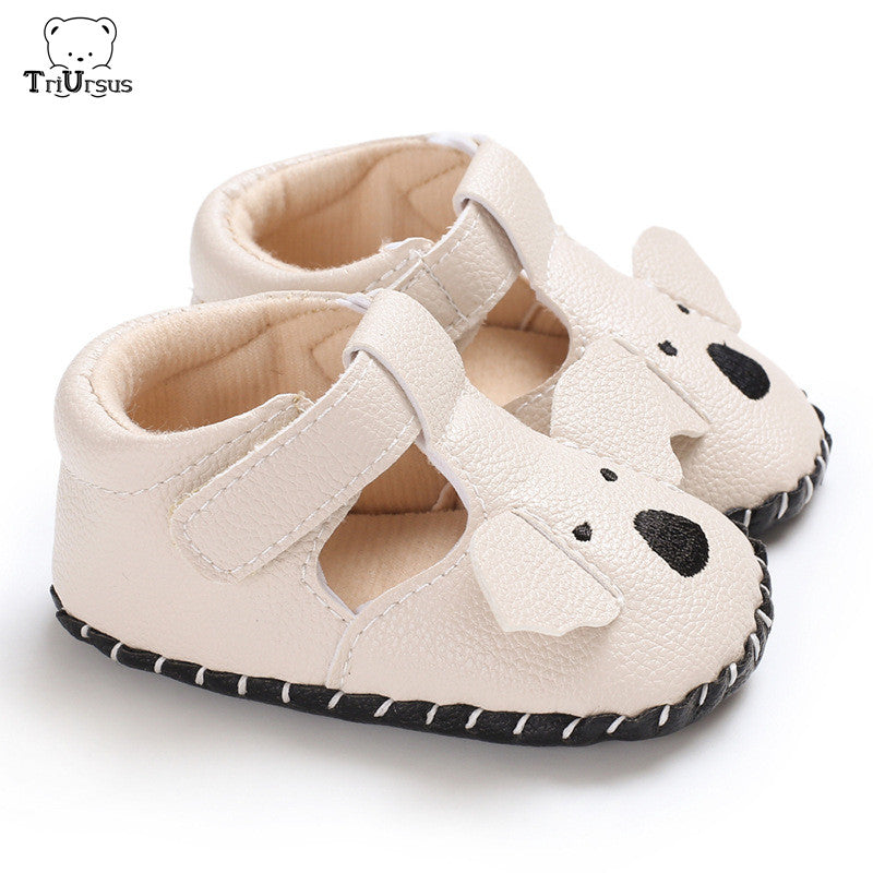 Buoyee Toddler Baby Girls Boys Solid Soft Sole Anti-Slip Sneakers Canvas Crib Shoes