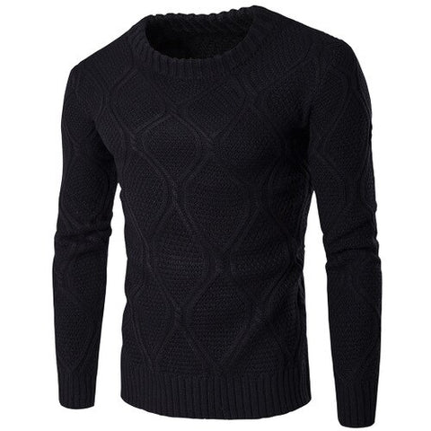 Heat-Tracing 10 Colors Mens Casual Knit Sweater 2019 Autumn Winter New Slim Fit Pullover WoolSweater Men Clothes