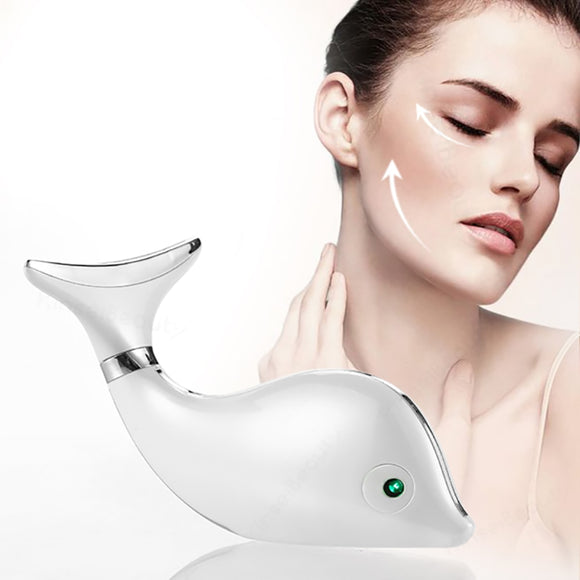 Neck Wrinkle Removal Beauty Tool Electirc Face Massager For Neck  Skin Lift Machine Facial Massage Device Neck Lifting Machine